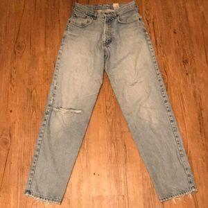 Lucky brand 24 women's relaxed fit zipper fly jean